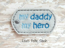 Daddy Dog Tag