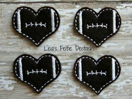 Heart Footballs