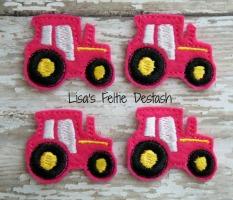 Tractors, Hot Pink