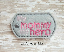 Mommy Dog Tag